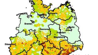 Radon Karte Unterfranken.Radon Krebsgefahr Aus Dem Boden Sudost Oberbayern Stark