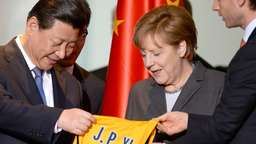 Chinas Präsident Xi Jingping in Berlin