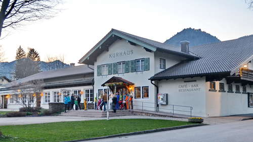 Olympia-Empfang in Ruhpolding