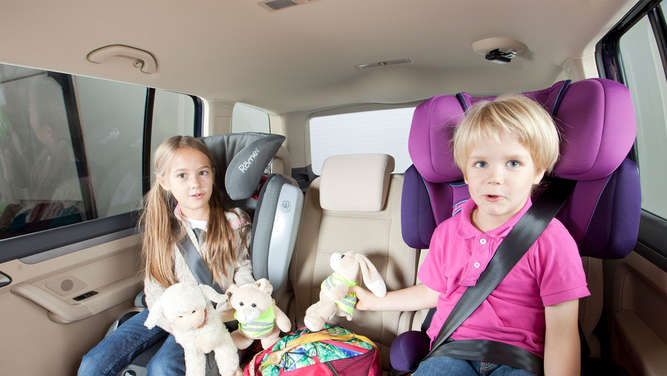 ADAC Kindersitz-Test 2014