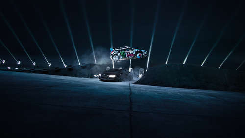 Düstere Drift-Challange mit Ken Block im Video
