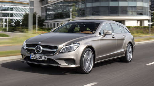 Der Neue: Mercedes CLS Shooting Brake