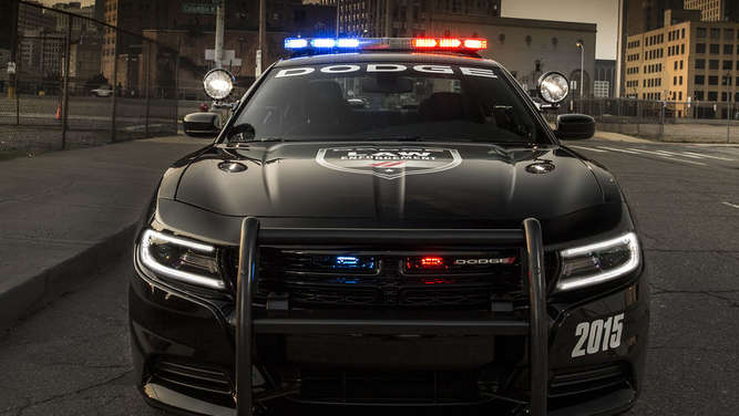 US-Polizeiauto: Dodge Charger Pursuit 2015