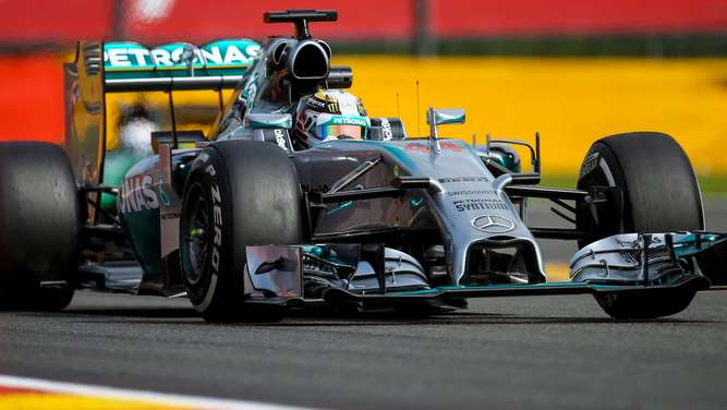 Rosberg Training Formel 1 Spa