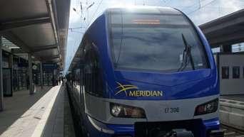 Meridian Bauarbeiten Auf Der Strecke München Rosenheim