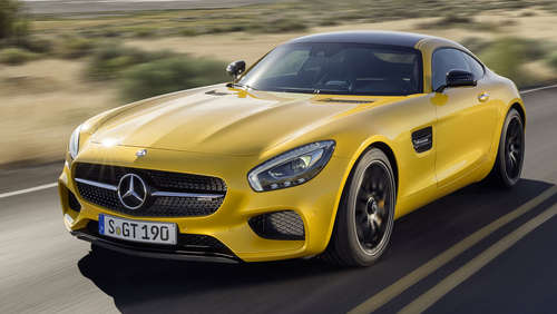 Sinnlicher Supersportler: Mercedes AMG GT