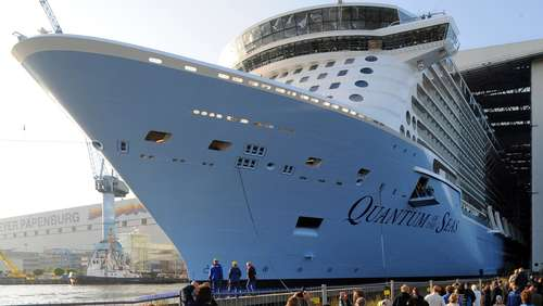 """Quantum of the Seas"" erreicht Nordsee"
