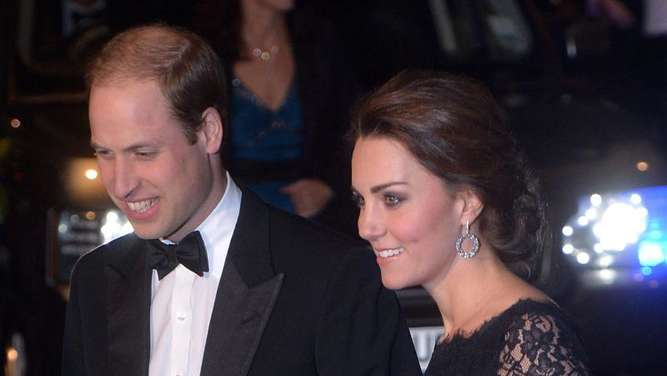 William und Kate bei der Royal Variety Performance. Foto: Stringer