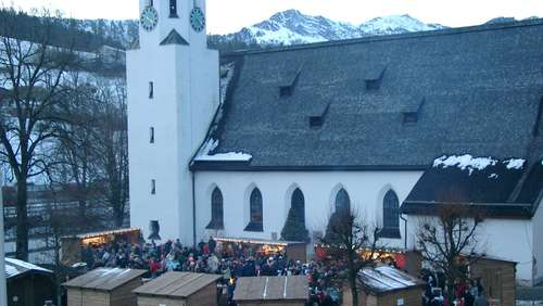 Der Adventsmarkt in Bischofswiesen 2013