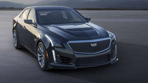 650 PS Luxus-Monster: Cadillac CTS-V