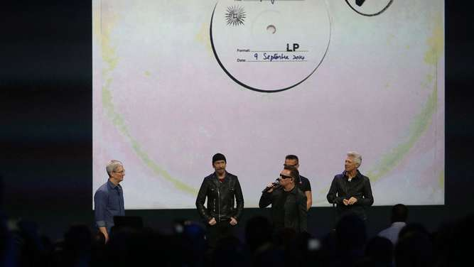 Apple, U2, Shitstorm