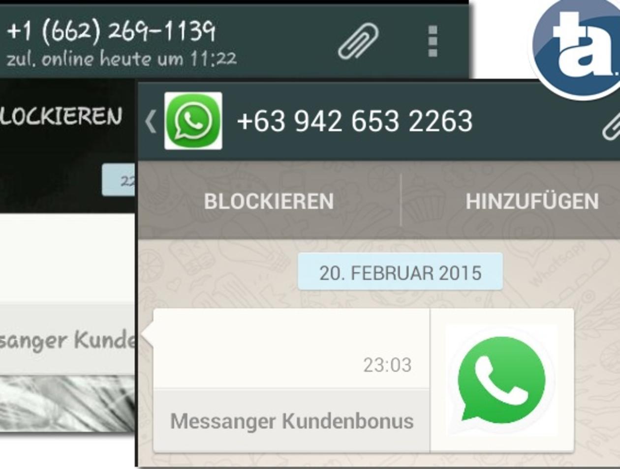 Nummer in whatsapp blockieren