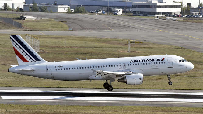 Air-France-Maschine