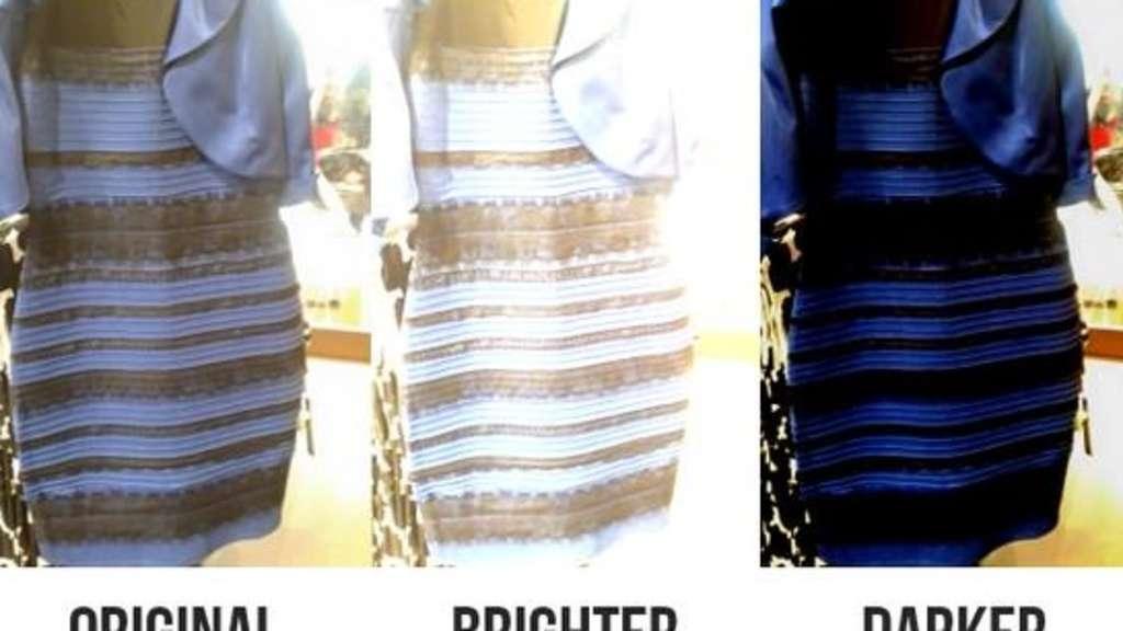 Welche Farbe Hat Dieses Kleid
