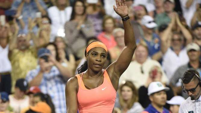 Serena Williams gewann ihr Auftaktmatch in India Wells. Foto: John G. Mabanglo