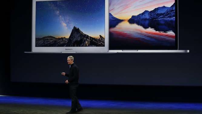 Apple TV Keynote Tim Cook