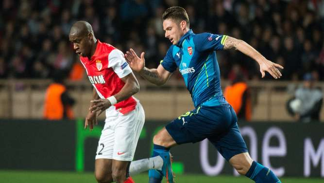 Champions League AS Monaco FC Arsenal