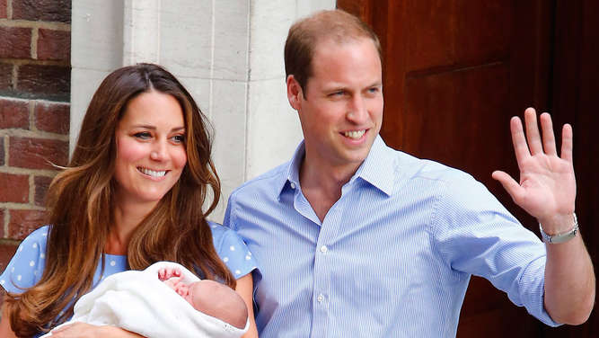 Herzogin Kate, Prinz William, Baby