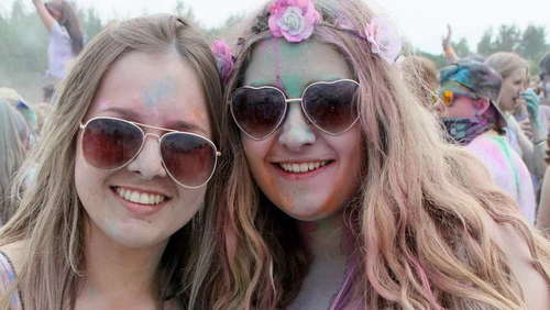 Holi-Festival in Bad Aibling
