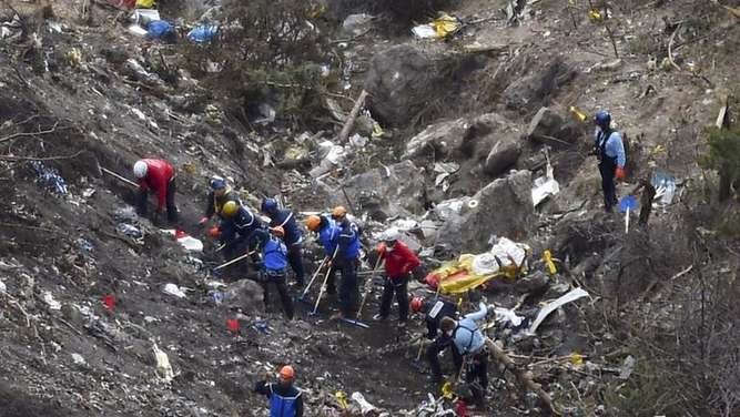 Germanwings, Absturz