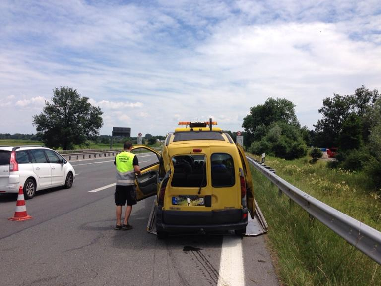 Unfall in Bernau am Chiemsee.