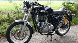 Retro-Bike: Royal Enfield Continental GT