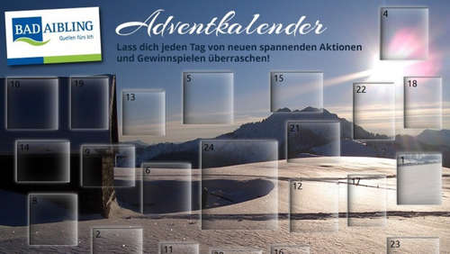 Online-Adventskalender 2015 für Bad Aibling