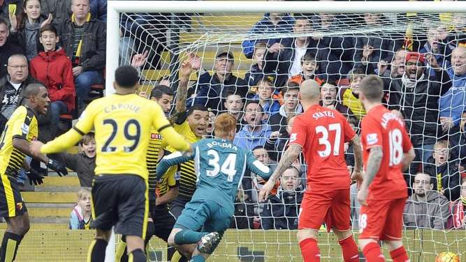 0:3 in Watford: Liverpool nur Neunter in der Premier League. Foto: Gerry Penny