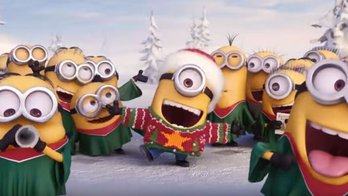 Video des Tages: Minions singen Jingle Bells Weihnachtslied | Video ...