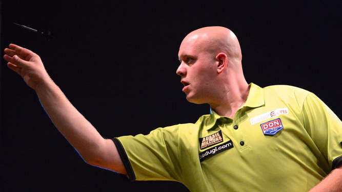 Michael van Gerwen, Raymond van Barneveld, Darts-WM, London