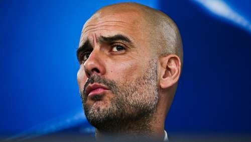 Guardiola vor Berlin: Skeptisch in der Meisterfrage