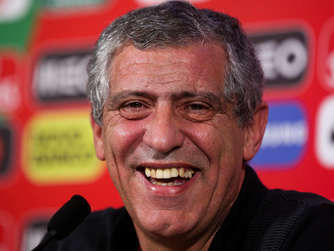 Portugals Nationaltrainer: Fernando Santos.