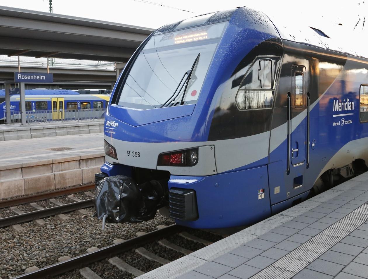 Meridian Normaler Fahrplan Zwischen München Und Rosenheim