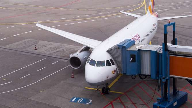 Germanwings-Maschine stoppt wegen Notfall in Bordeaux