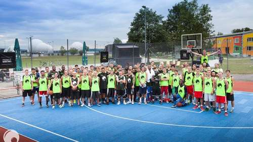 "Großes Streetball-Event ""The Cage"" in Bad Aibling am 30. Juli"