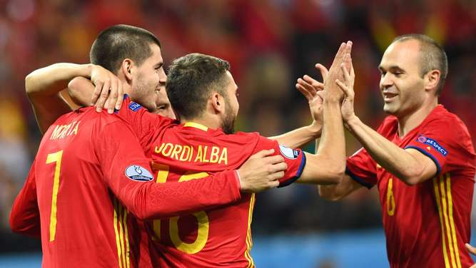 EURO 2016 - Group D Spain vs. Turkey
