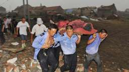 Tornados und Unwetter in China: 98 Tote