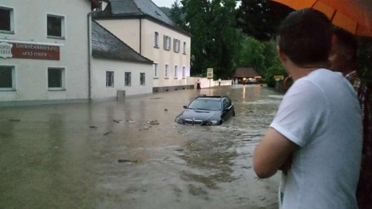 Unwetter In Obernzell