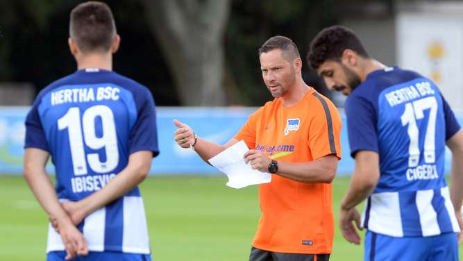 Trainingsauftakt Hertha BSC