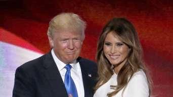 Trump nackt Melania  Melania Trump's