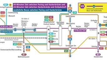 Arbeiten An Münchner Stammstrecke Diese S Bahnen Fallen Aus