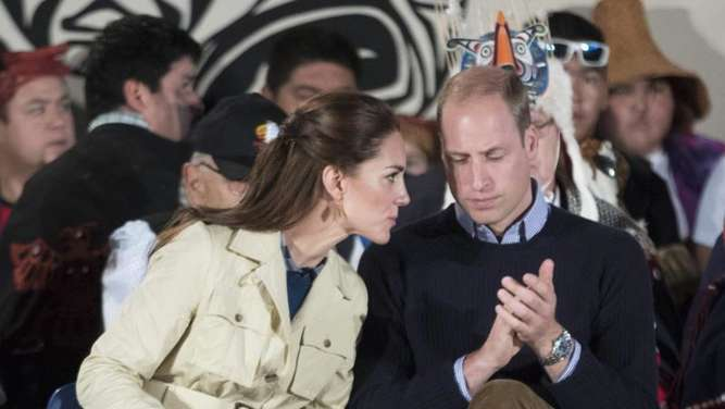 William und Kate in Kanada. Foto: Str