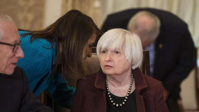 Die Chefin der US-Notenbank Fed, Janet Yellen. Foto: Jim Lo Scalzo