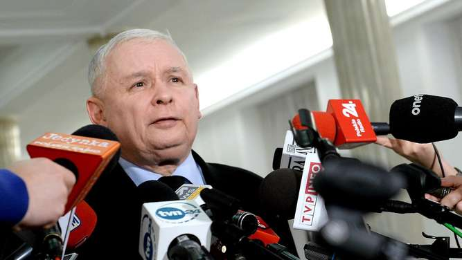 Law and Justice party leader Jaroslaw Kaczynski