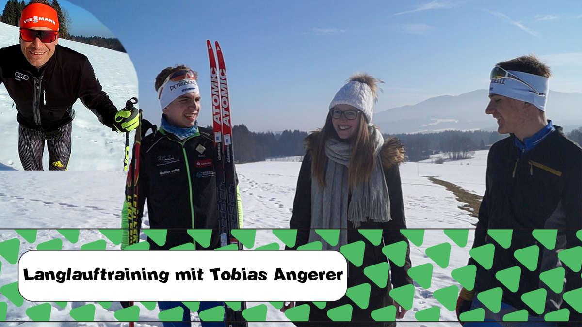 Mit Weltcup-Sieger Tobi Angerer auf dem Weg zu Langlaufprofis - Folge 2 - rosenheim24.de
