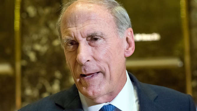 Dan Coats im Trump Tower