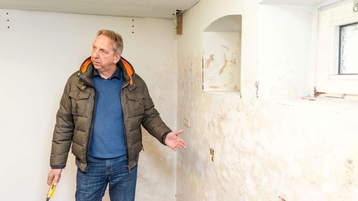 rosenheim feuchtesch den durch starkregen pr fen und beseitigen isotec. Black Bedroom Furniture Sets. Home Design Ideas