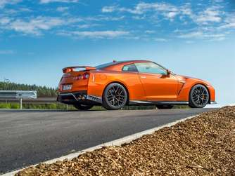 Imposanter Japaner: Der Nissan GT-R mit 570 PS.