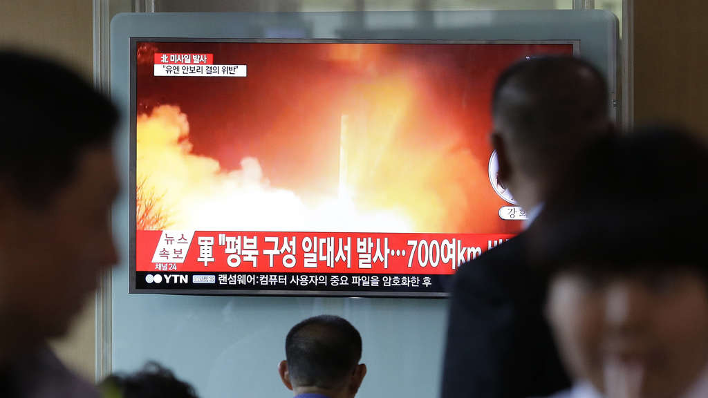 Nordkorea setzt Raketentests fort