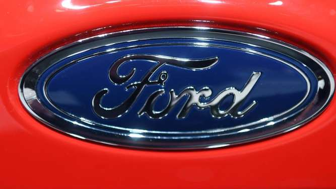 Ford-Logo. Foto: Uli Deck/Illustration